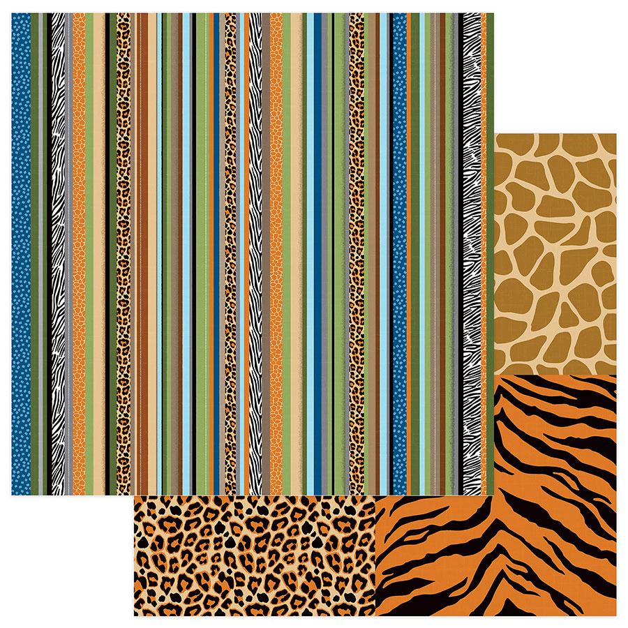 Photo Play Papers - We Bought a Zoo - Zoo Keeper - 2 Sheets