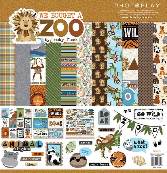 Photo Play Paper Collection Kit - We Bought a Zoo
