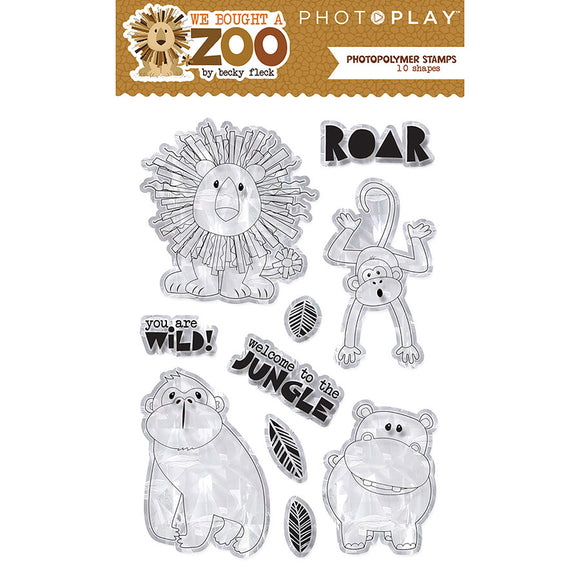 Photo Play Clear Stamp Set - We Bought a Zoo