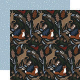 Echo Park Papers - Warm & Cozy - Cozy Animals - 2 Sheets