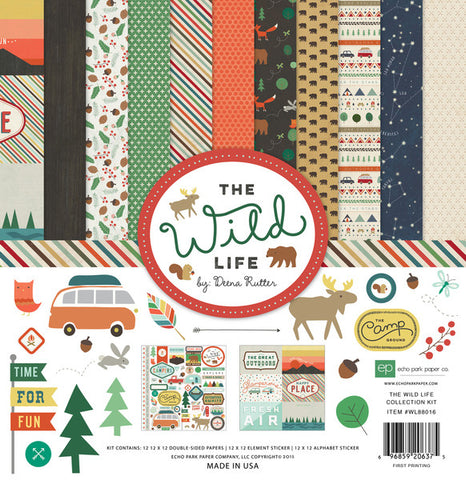 Echo Park Collection Kit - The Wild Life