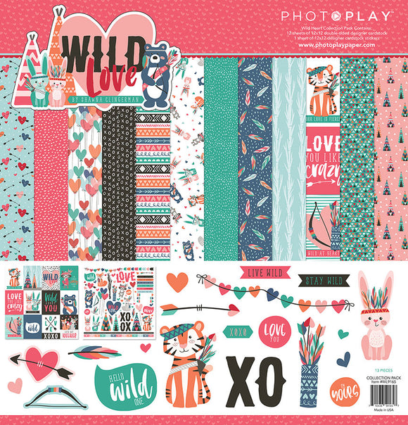 Photo Play Paper Collection Kit - Wild Love