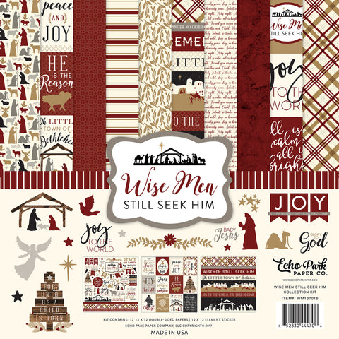 Echo Park Collection Kit - Wise Men Still Seek Him