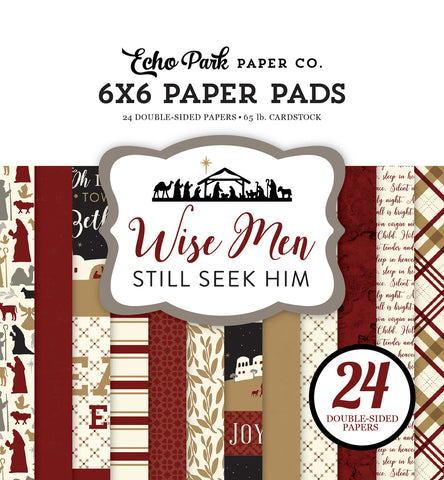 Echo Park 6x6 Pad - Wise Men Still Seek Him