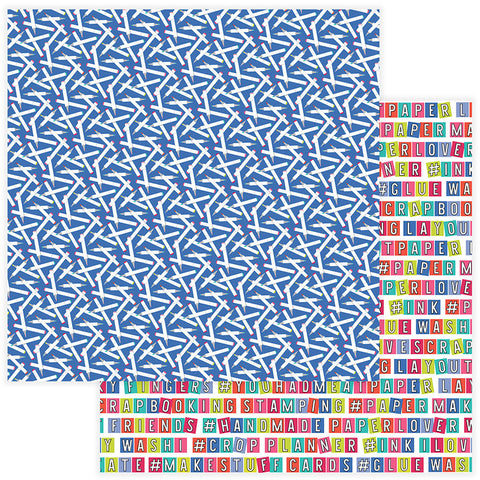 Photo Play Papers - You Had Me at Paper - Color Me - 2 Sheets