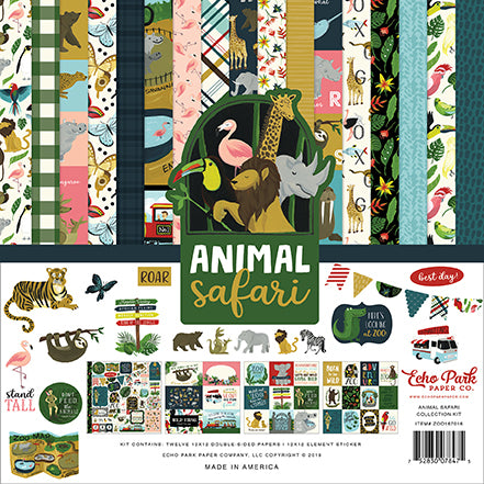 Echo Park Collection Kit - Animal Safari