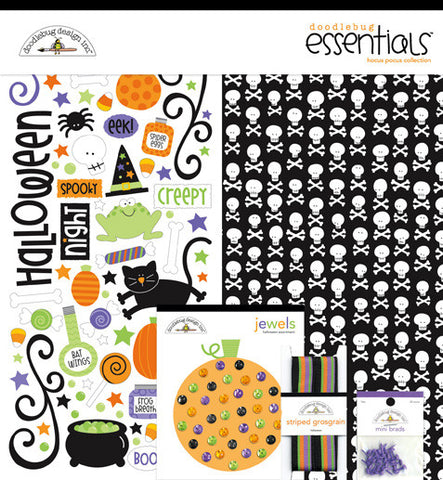 Doodlebug Design Essentials Kit - Hocus Pocus