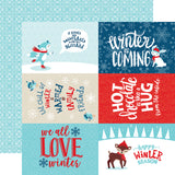 Echo Park Cut-Outs - Celebrate Winter - 4x6 Journaling Cards