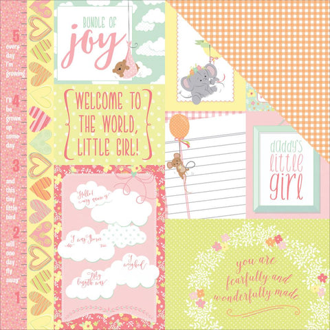 Photo Play Cut-Outs - About a Little Girl - Precious