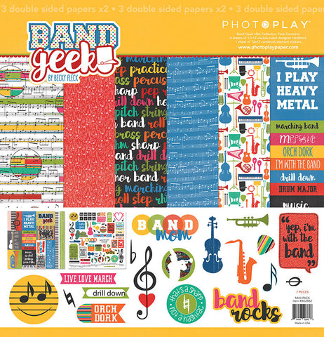 Photo Play Paper Collection Kit - Band Geek