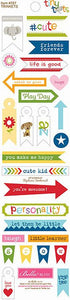Bella Blvd Trinkets Cardstock Stickers - Tiny Tots