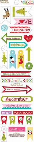 Bella Blvd Trinkets Cardstock Stickers - Christmas Cheer