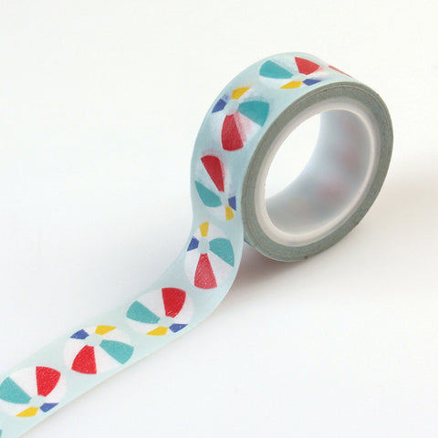 Carta Bella Washi Tape - Beach Day - Beach Ball