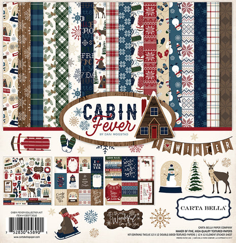 Carta Bella Collection Kit - Cabin Fever