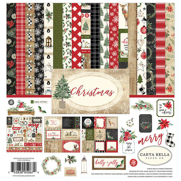 Carta Bella Collection Kit - Christmas