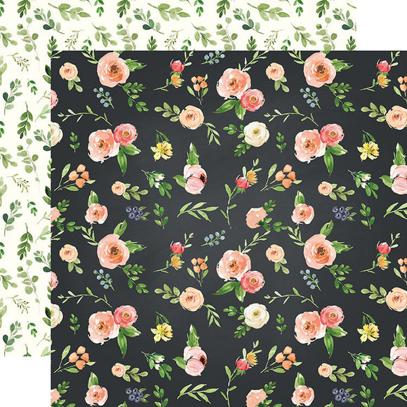 Carta Bella Papers - Spring Market - Market Floral - 2 Sheets