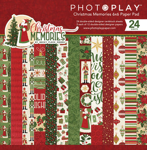 Photo Play Paper 6x6 Paper Pad - Christmas Memories