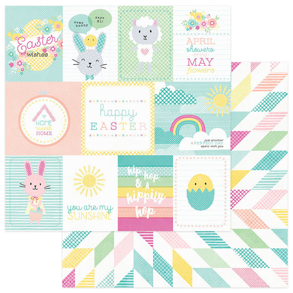 Photo Play Cut-Outs - Easter Blessings - Spring Wishes