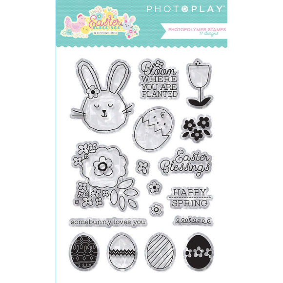 Photo Play Clear Stamp Set - Easter Blessings