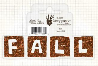 Fancy Pants Glitter Cut - Fall