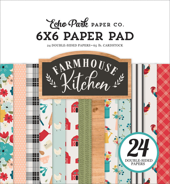 Echo Park 6x6 Pad - Farmhouse Kitchen