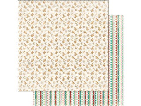 Authentique Papers - Colorful Christmas - Four - 2 Sheets