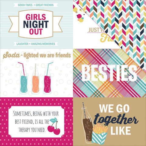 Photo Play Cut-Outs - Fun With Friends - 4x6 Cards