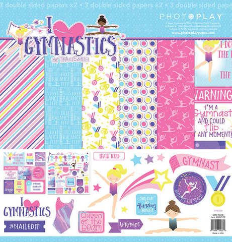 Photo Play Paper Collection Kit - I Love Gymnastics