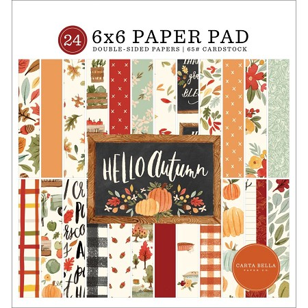 Carta Bella 6x6 Pad - Hello Autumn