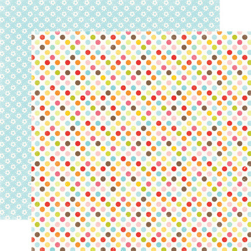Echo Park Papers - Hello Summer - Dots Everywhere - 2 Sheets