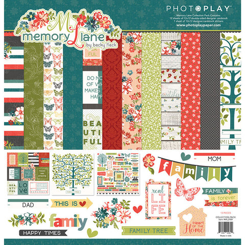 Photo Play Paper Collection Kit - Memory Lane