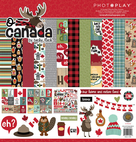 Photo Play Paper Collection Kit - O Canada