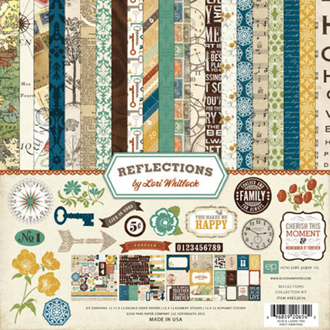Echo Park Collection Kit - Reflections by Lori Whitlock