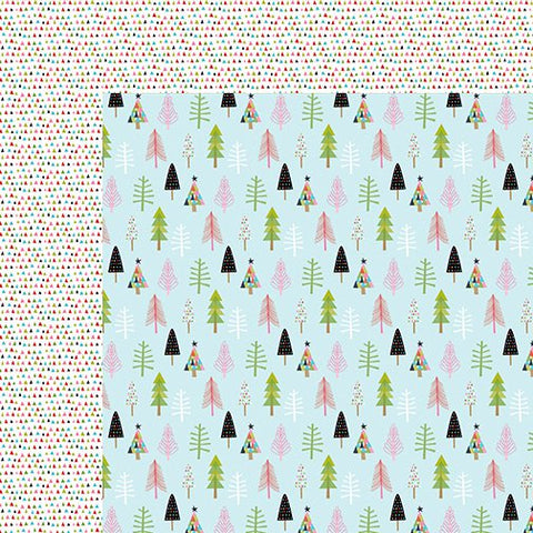 Bella Blvd Papers - Santa Stops Here - Through the Woods - 2 Sheets
