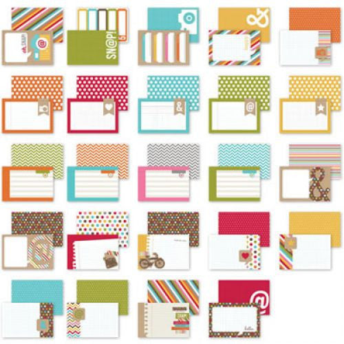 Simple Stories 4x6 Snap Cards - Thought