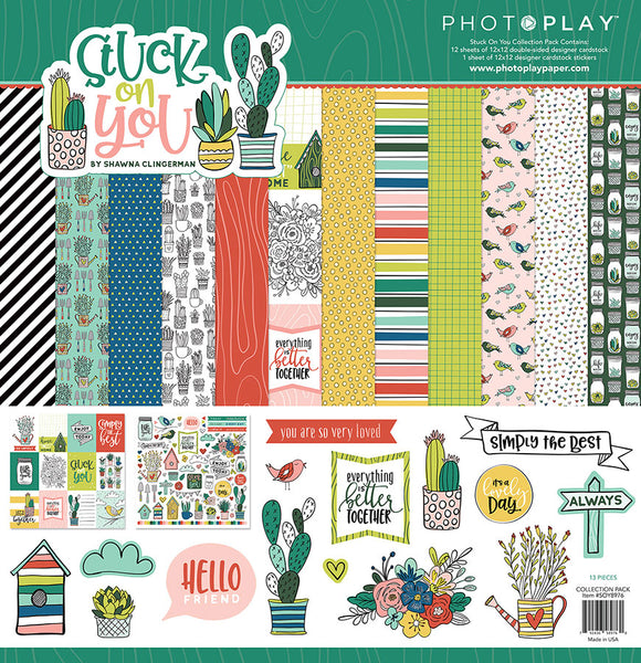 Photo Play Paper Collection Kit - Stuck on You