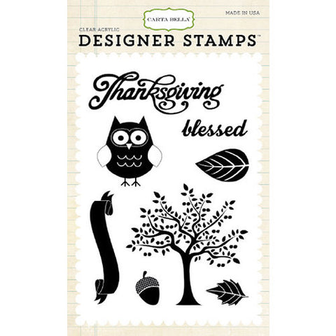 Carta Bella Stamp Set - Thankful Blessing