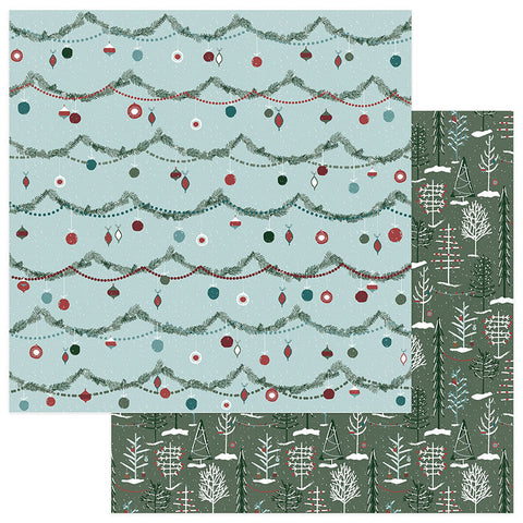 Photo Play Papers - Winter Meadow - Winter Woods - 2 Sheets