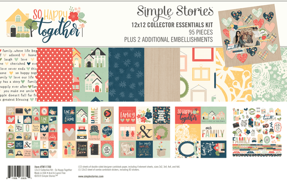 Simple Stories Emellishment/Collection Kit - So Happy Together