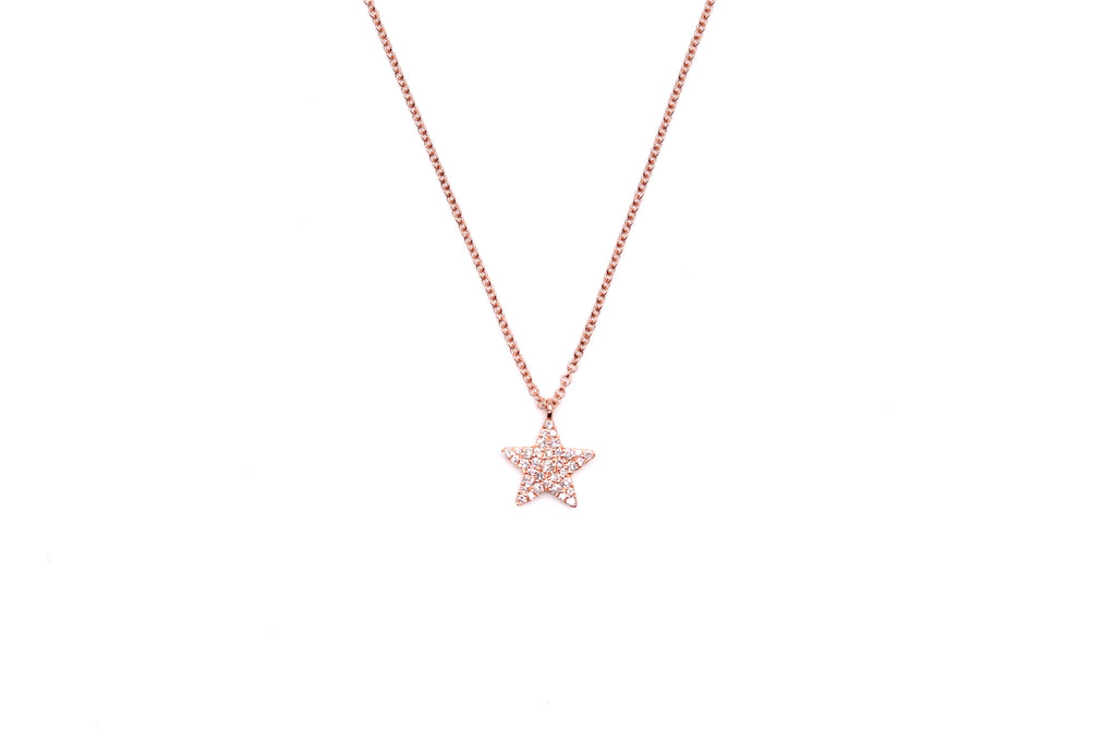 You're A Star Diamond Necklace