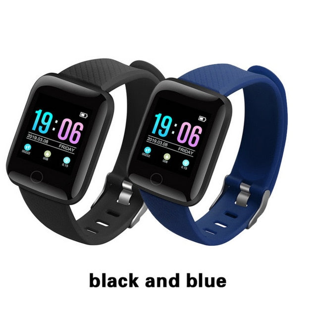 Heart Rate Monitor Blood Pressure Monitor Smartwatch - Smart Budget Watch