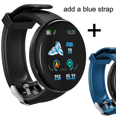 Blood Pressure Heart Rate Monitor Waterproof Smartwatch - Smart Budget Watch