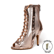 Lexie rose gold - Talon épais - Personnalisable