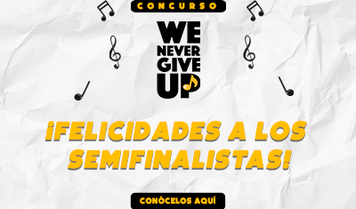 Concurso We Never Give Up