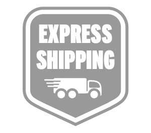 Overnight, express shipping available