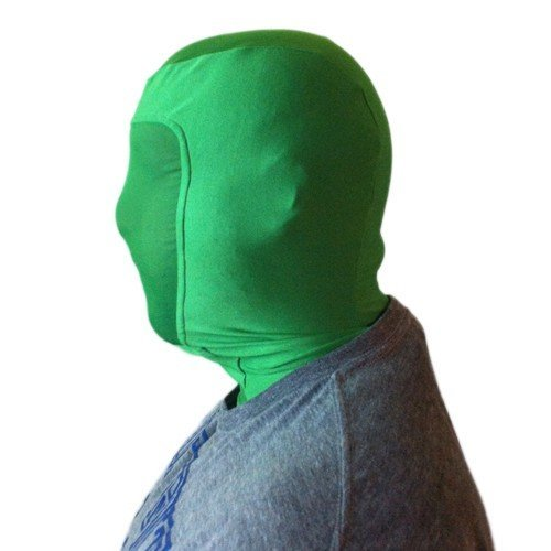 chroma key green mask
