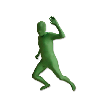 green screen chroma key full bodysuit