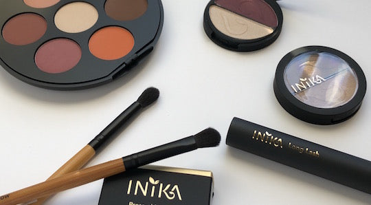 INIKA Special Offer:  FREE Vegan Bamboo Eye Brush Duo