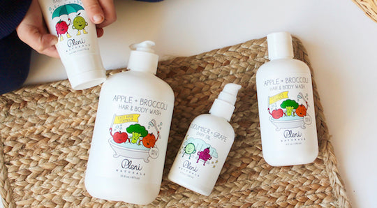 Welcome Pleni Naturals: Healthy Skincare Brand for Kiddos + Introductory Offer