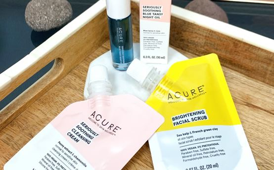 Stock Up & Save 10% on ACURE + Free Travel Size Sample!